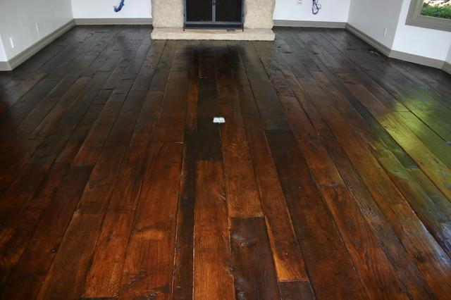 Reclaimed antique french oak for Reclaimed fir flooring seattle