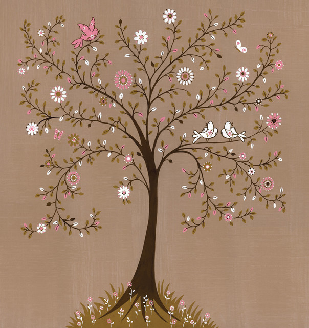 Tree Of Life Traditional Wallpaper Toronto By Ruth