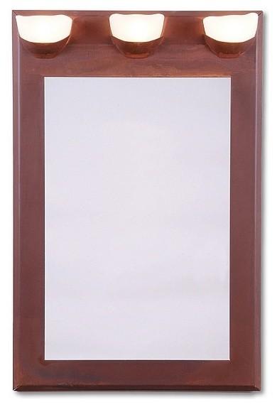 Rustic Logen Mirror eclectic-mirrors