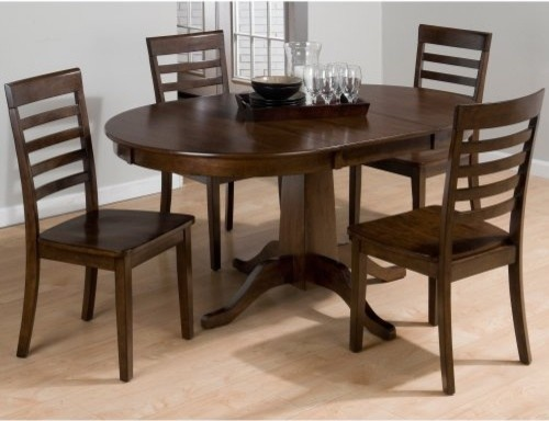jofran taylor 5 piece drop leaf dining table set modern dining