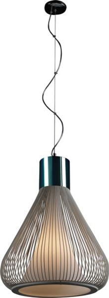 ET2 Lighting E21502-09WT 1 Light Pendant Hydrox Collection contemporary-pendant-lighting