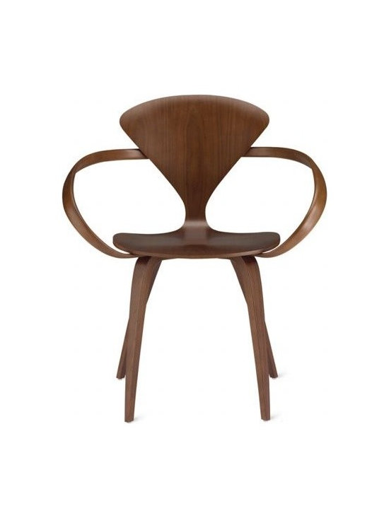 Cherner Chair Company - Cherner Armchair - Norman Cherner first designed his iconic chair in 1958. A bunch of drama, thieving and suing happened, and eventually production of the chair was scrapped. Luckily, Norman's sons have put the chair back into production, and design fans are snapping it up as quickly as they can.