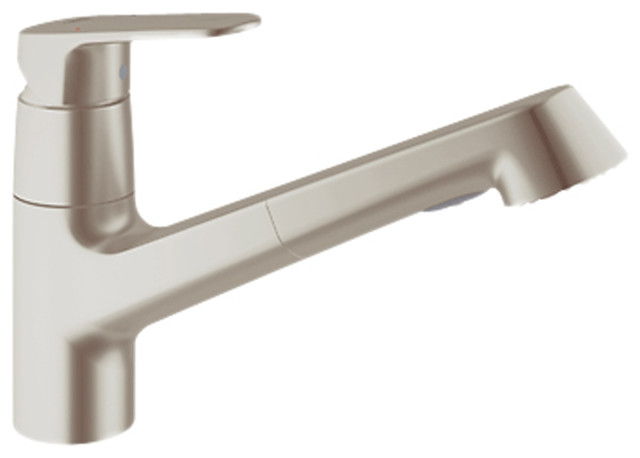Grohe 32946DC2 Dual Spray Pull - Out In Supersteel contemporary-kitchen-faucets