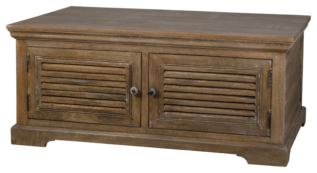 Ashby coffee table furniture other metro by urban barn for Coffee tables urban barn