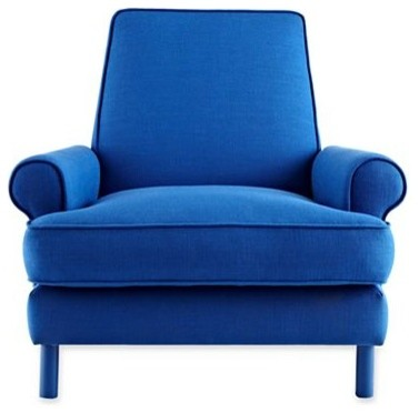 design by conran elder chair cobalt blue modern