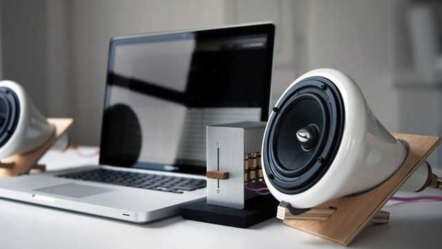 Ceramic Speakers With Hi-Fidelity Sound contemporary home electronics