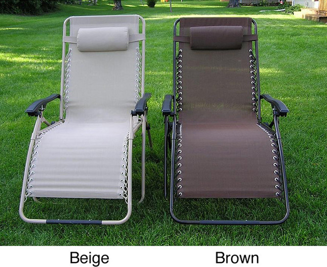 Zero gravity extra wide recliner lounge chair for Chaise zero gravite