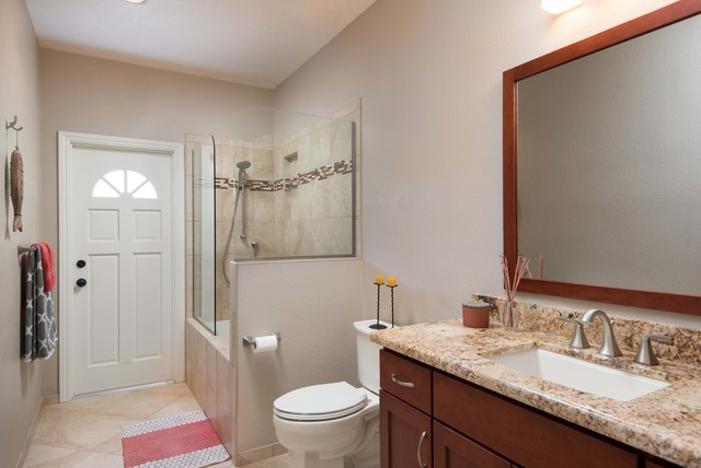 escondido guest bathroom remodel traditional san diego