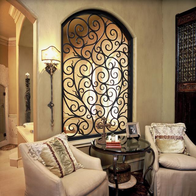 Iron Insert Front Doors Dallas By Elegante Iron Inc