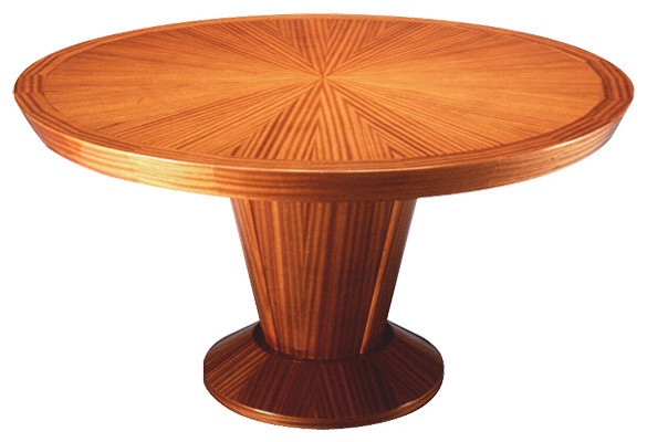 HERALDIC TAPERED BASS DINING TABLE contemporary