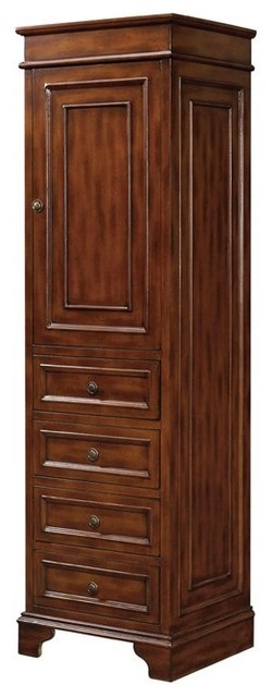 Belle Foret Model BF80028 Linen Storage Cabinet  bathroom storage