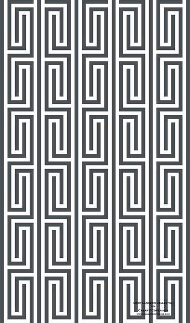 Libby Langdon Collection - Mini Maze modern-wallpaper