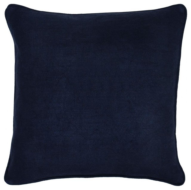 Decorative Pillows Navy : Metro Navy Pillow - Decorative Pillows - chicago - by Belle and June