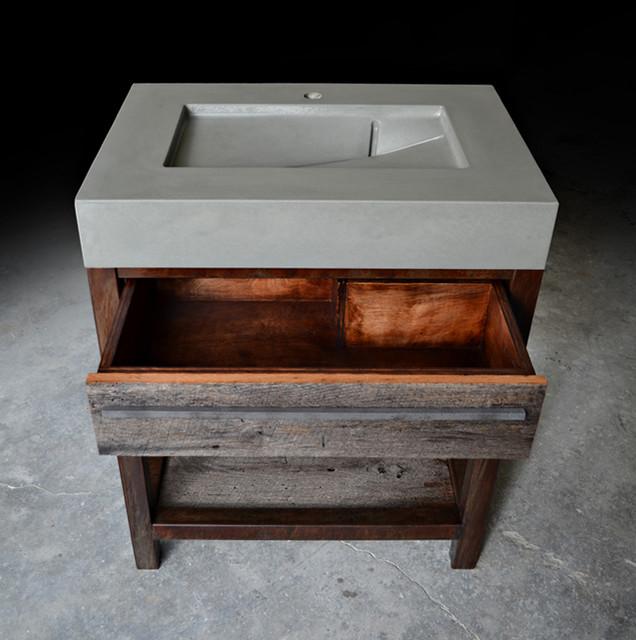 Fantastic Sink Vanities Design With Rustic Modern Bathroom Vanities Design Ideas