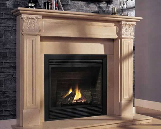Fireplace Mantels - Marble -