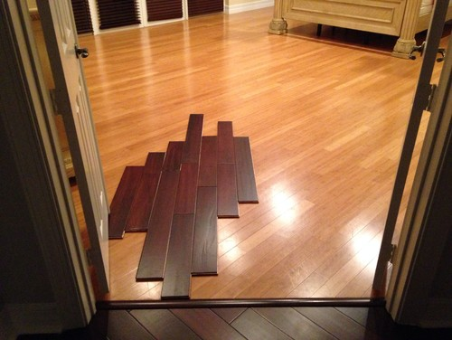 Which direction to lay wood floors??