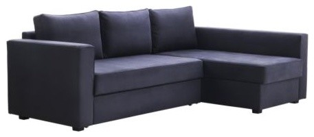 Mnstad Corner Sofa-Bed with Storage contemporary sofa beds