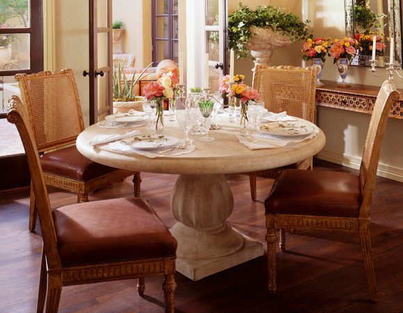 The Stone Yard Table mediterranean-dining-tables