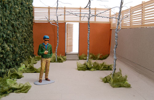 Walled Garden, Beacon Hill, Boston contemporary-rendering