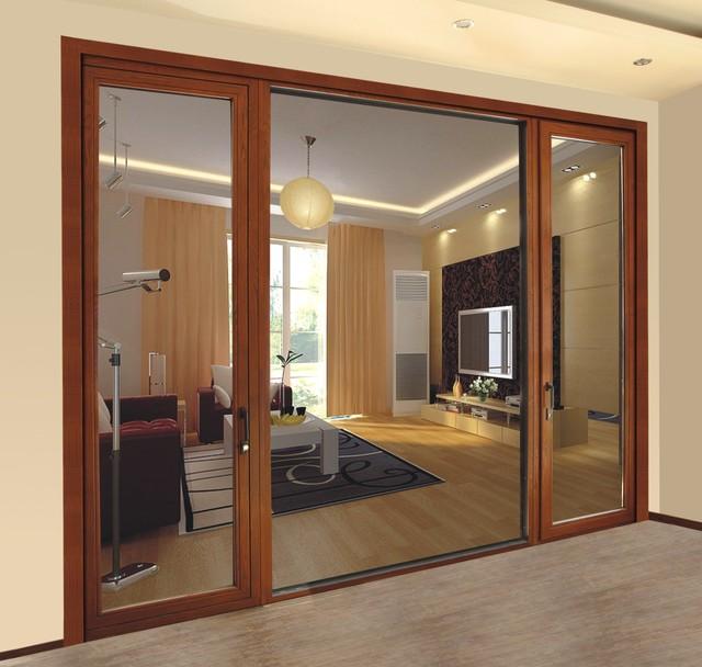 Aluminum Clad Wood Doors - Contemporary - Front Doors - by New Era Building Materials Co., Ltd.