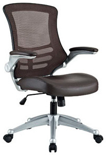 Attainment Office Chair in Brown modern-office-chairs