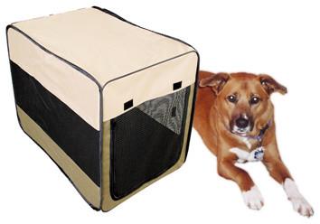 Sportsman Series Portable Pet Kennel for Medium Size Dogs modern-pet-supplies