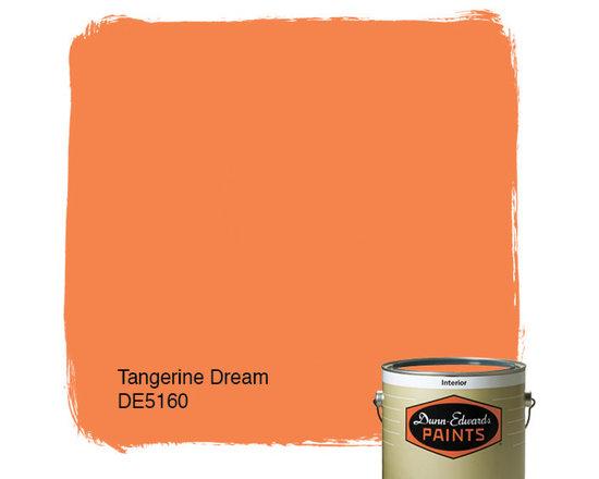 Dunn-Edwards Paints Tangerine Dream DE5160 -