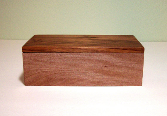 Handmade Wooden Jewelry Box By TKfindz - Contemporary - Jewelry Boxes And Organizers - by Etsy