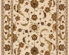 Dynamic Rugs Jewel 70113 Persian Rug - Beige/Beige traditional rugs