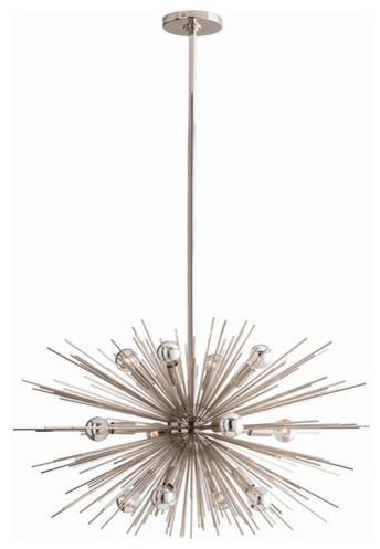 Arteriors Home - Zanadoo 12 Light Chandelier - 89670 contemporary-chandeliers
