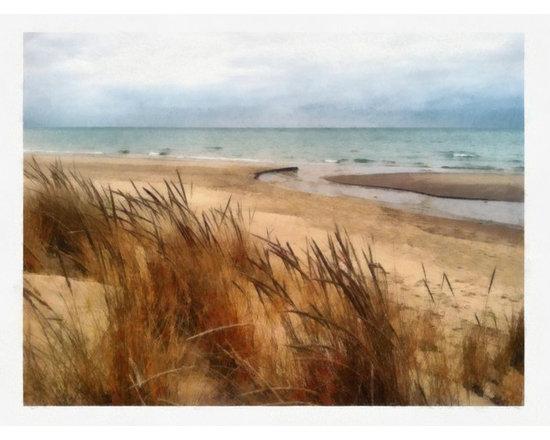 Winter Beach at Pier Cove -
