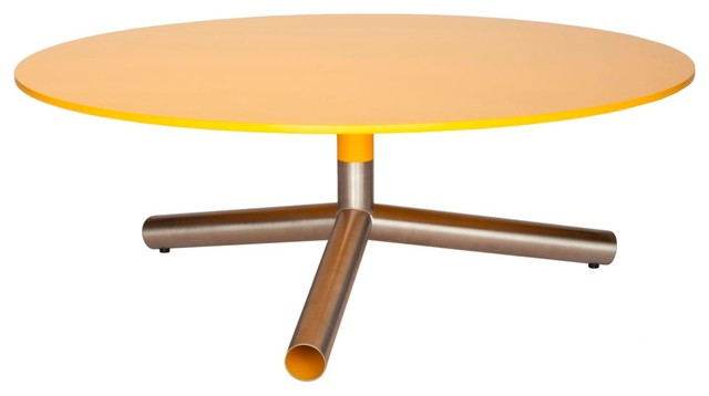 Blu Dot Sprout Coffee Table, Complete Yellow modern-coffee-tables