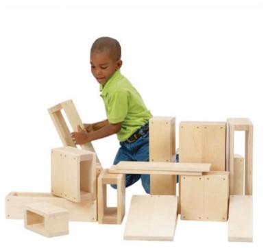 Guidecraft Jr. Hollow Blocks modern-kids-toys-and-games