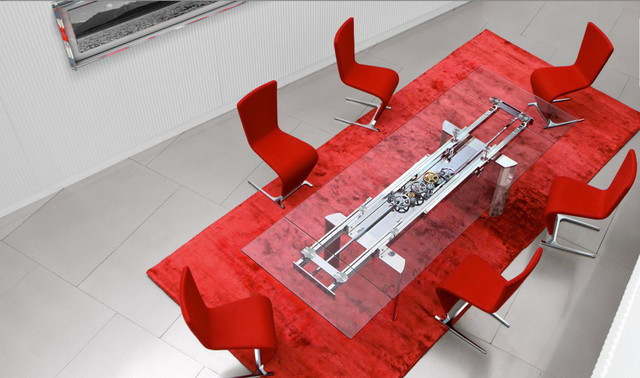 Astrolab Dining Table contemporary-dining-tables