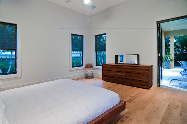 "Private Residence ""H"" contemporary-bedroom"