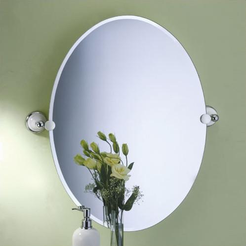 Franciscan Oval Mirror modern-home-decor