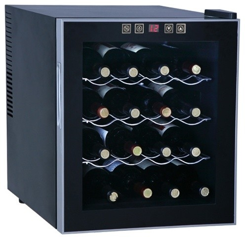 Thermo-Electric Wine Cooler, 16-Bottle contemporary-beer-and-wine-refrigerators