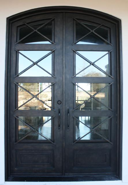 Contemporary Iron Door Contemporary Front Doors