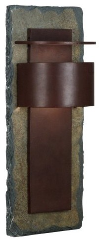 Kenroy Home Pembrooke Extra Large Lantern 70287SL - 24H in. Copper contemporary-outdoor-lighting