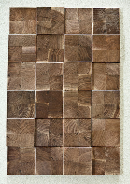 Projection Polished Wood Tiles contemporary-wood-flooring