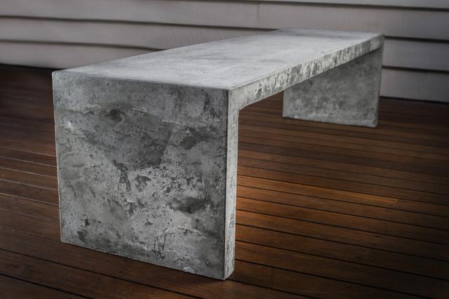 Concrete Table - Contemporary - Coffee Tables - brisbane - by makimaki ...