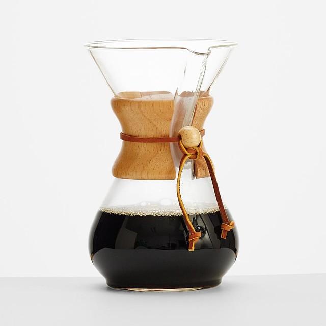 Drip Coffee Maker Benefits : Chemex Drip Coffee Set - Modern - Coffee Makers - by RedEnvelope