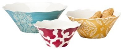 Home 3 pc. Serving Bowl Set eclectic-serving-and-salad-bowls