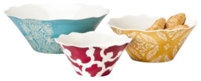Home 3 pc. Serving Bowl Set eclectic-serving-bowls