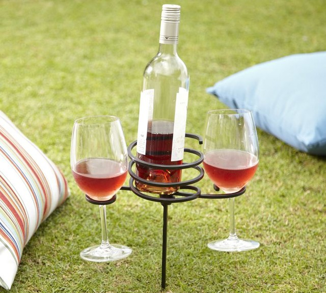 Picnic Beverage Stake eclectic outdoor products