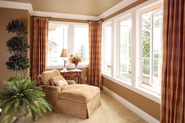 Casement Window Treatments : Casement window traditional windows by ply gem