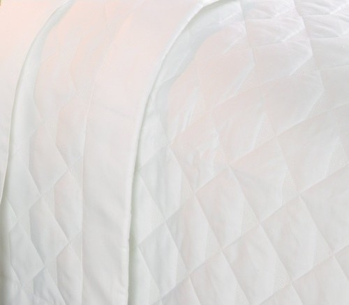 Diamond Quilted 400 Thread Count Coverlet modern-quilts