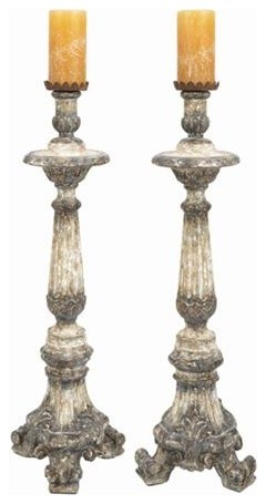 Cathedral Candlestick Sold Individually Cathedral Candlestick Sold Individually traditional-candleholders