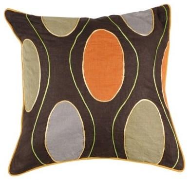 Surya Adams Decorative Pillow - Multicolor modern-decorative-pillows