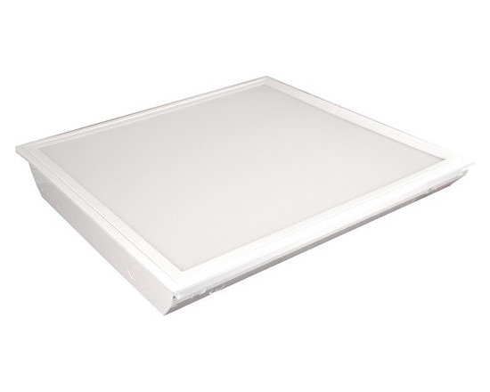 MaxLite - MLRT22D4550 MaxLite 2x2 Eco-T LED Recessed Troffer 45 Watts 5000K - MaxLite's ECO-T LED Recessed Troffer Light Panels are high quality, energy saving replacements for fluorescent troffers in lay-in or T-grid ceilings. These LED Panels house LED Strips that resemble fluorescent tubes when lit, without the buzzing and flicker!
